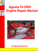 Thumbnail Agusta F4 ORO Engine Repair Manual
