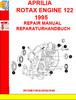 Thumbnail APRILIA ROTAX ENGINE 122 1995 REPAIR MANUAL REPARATURHANDBUC
