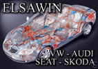 AUDI ELSAWIN ALL MODELS IN ONE COVERED FROM 1994 - 2012