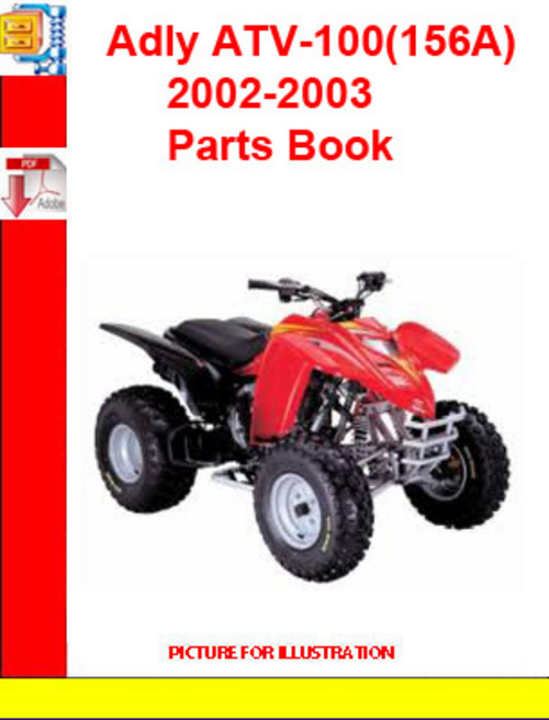 Product picture Adly ATV-100(156A) 2002-2003 Parts Book