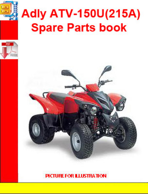 Product picture Adly ATV-150U(215A) Spare Parts book