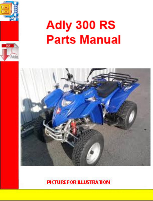 Product picture Adly ATV-300 RS Parts Manual