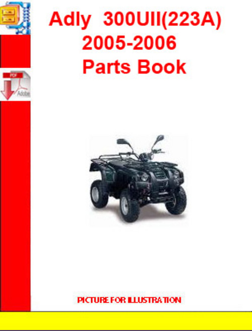 Product picture Adly  ATV-300UII(223A) 2005-2006 Parts Book