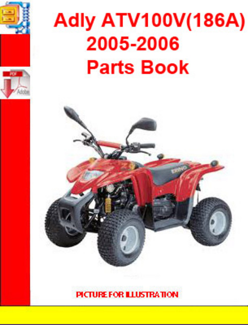 Product picture Adly ATV100V(186A) 2005-2006 Parts Book
