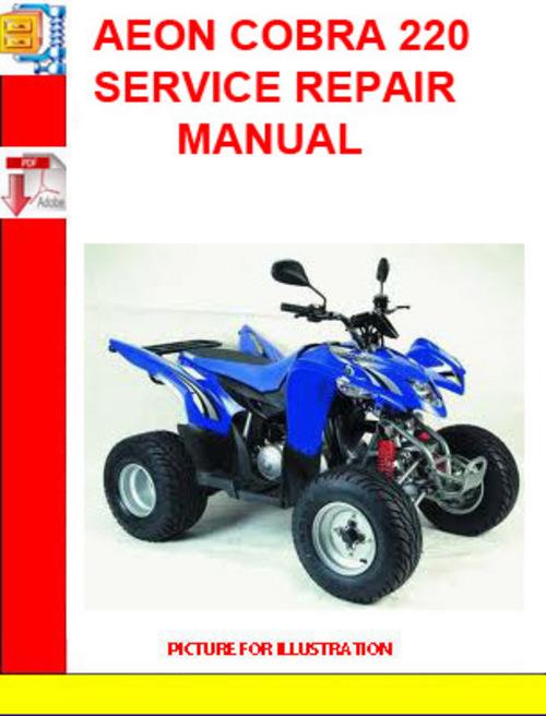 Product picture AEON COBRA 220 SERVICE REPAIR MANUAL