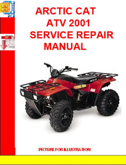 Product picture ARCTIC CAT ATV 2001 SERVICE REPAIR MANUAL