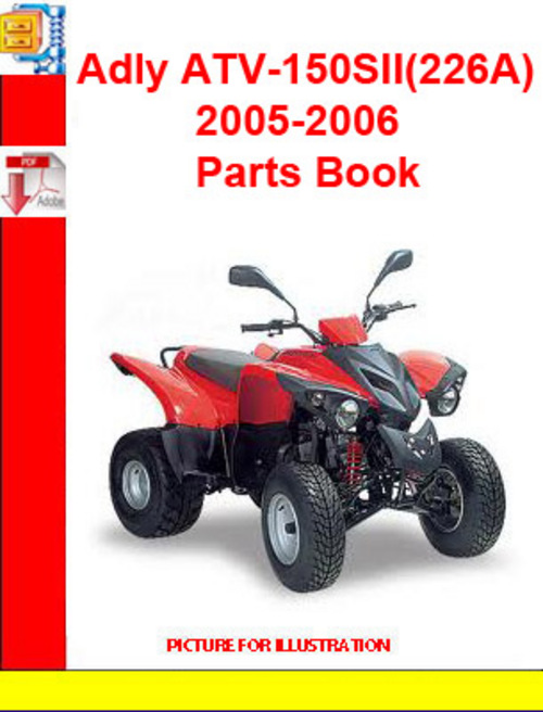 Product picture Adly ATV-150SII(226A) 2005-2006 Parts Book