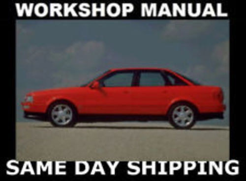 Product picture AUDI 80 1994 - 2012 COMPLETE WORKSHOP MANUAL