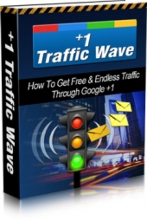 Product picture Plus 1 Traffic Wave, Comes With Master Resale Rights
